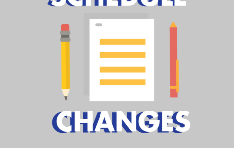 Counselors to release schedule change forms Monday after school