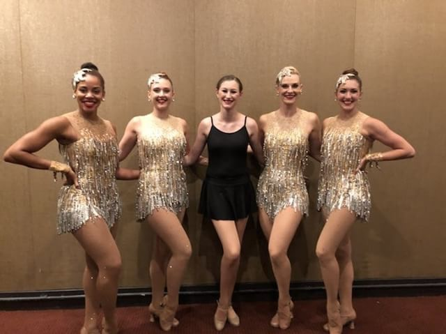 The+Rockettes+are+a+famous+dance+troupe+known+for+their+high-kick+Christmas+show+which+they+have+performed+for+over+75+million+fans+since+1925.+Students+Delaney+Walker+and+Meredith+Hughes+%28pictured%29+attended+their+summer+intensive.+