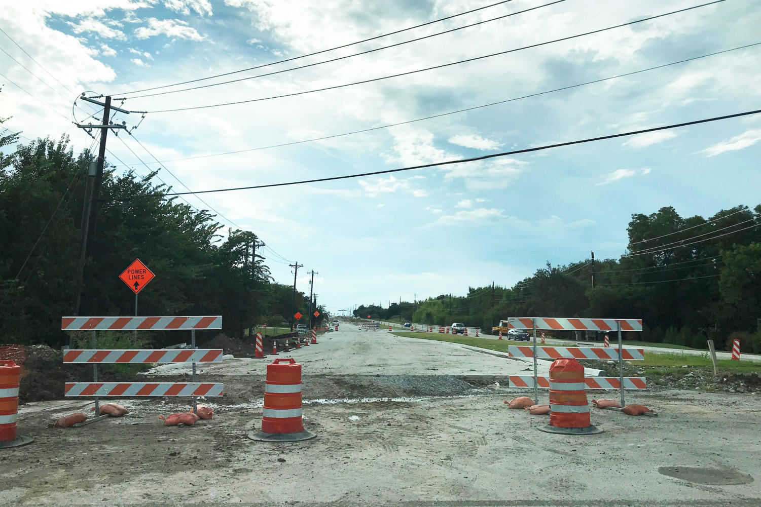 Stacy Road construction is set to finish early 2019 after trouble with sewer lines.