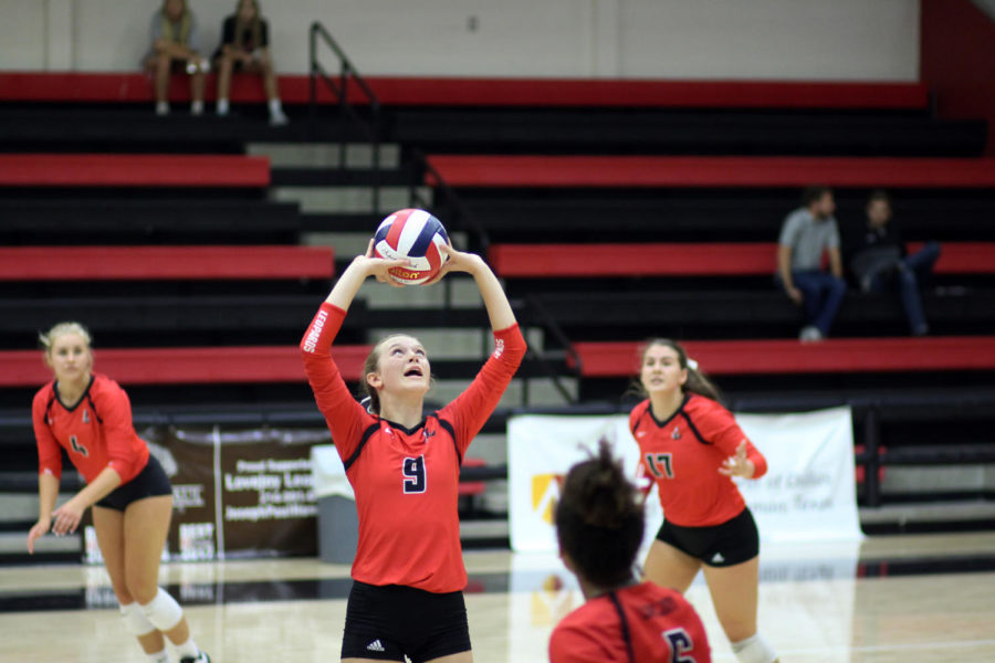 Volleyball team to begin district season against Wylie East