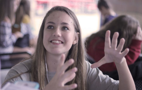 Sophomore Savannah Wynn