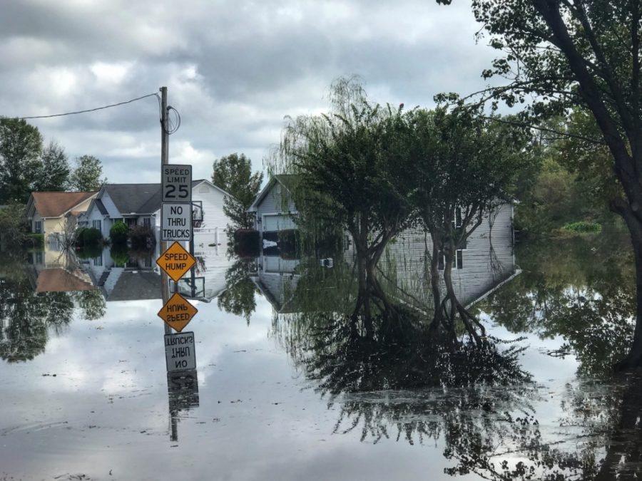 Hurricane Florence hit the Carolinas as a Category 4 storm.