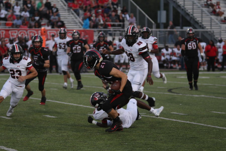 Football to challenge Lake Dallas in Homecoming matchup