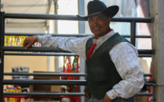 Jerry Diaz is a fourth generation house trainer and comes to the State Fair of Texas from New Braunfels with his wife and son.