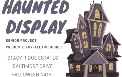Senior Alexis Dubree's senior project to be on display Halloween night.