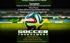 Soccer players to host tournament for senior project