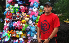 Victor Ramirez travels the country working at fairs and concerts. He is a Florida local, but he needs the job.