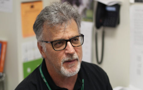 Economics and history teacher Bruce Dillow