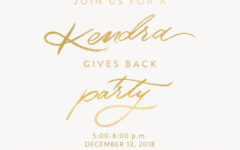 Foundation to hold fundraising event with Kendra Scott