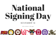 National Signing Day to recognize student athletes Nov. 14