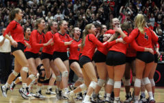 Photo Gallery: Volleyball wins state semifinals