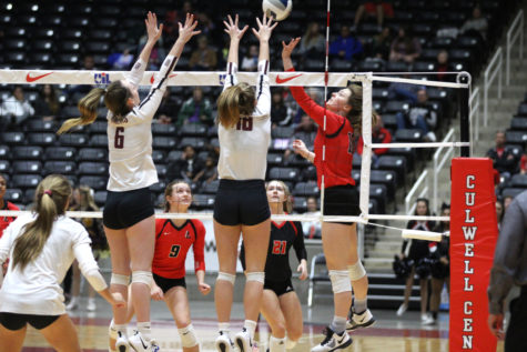 Volleyball look to keep playoff train rolling