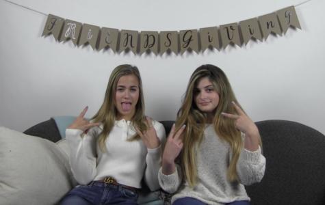 Friendsgiving 2018: Hannah and Sydney