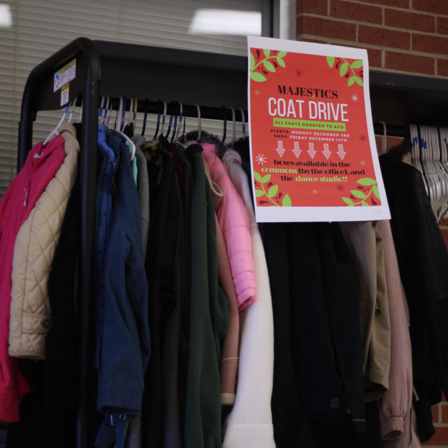 Majestics hold coat drive for holiday season