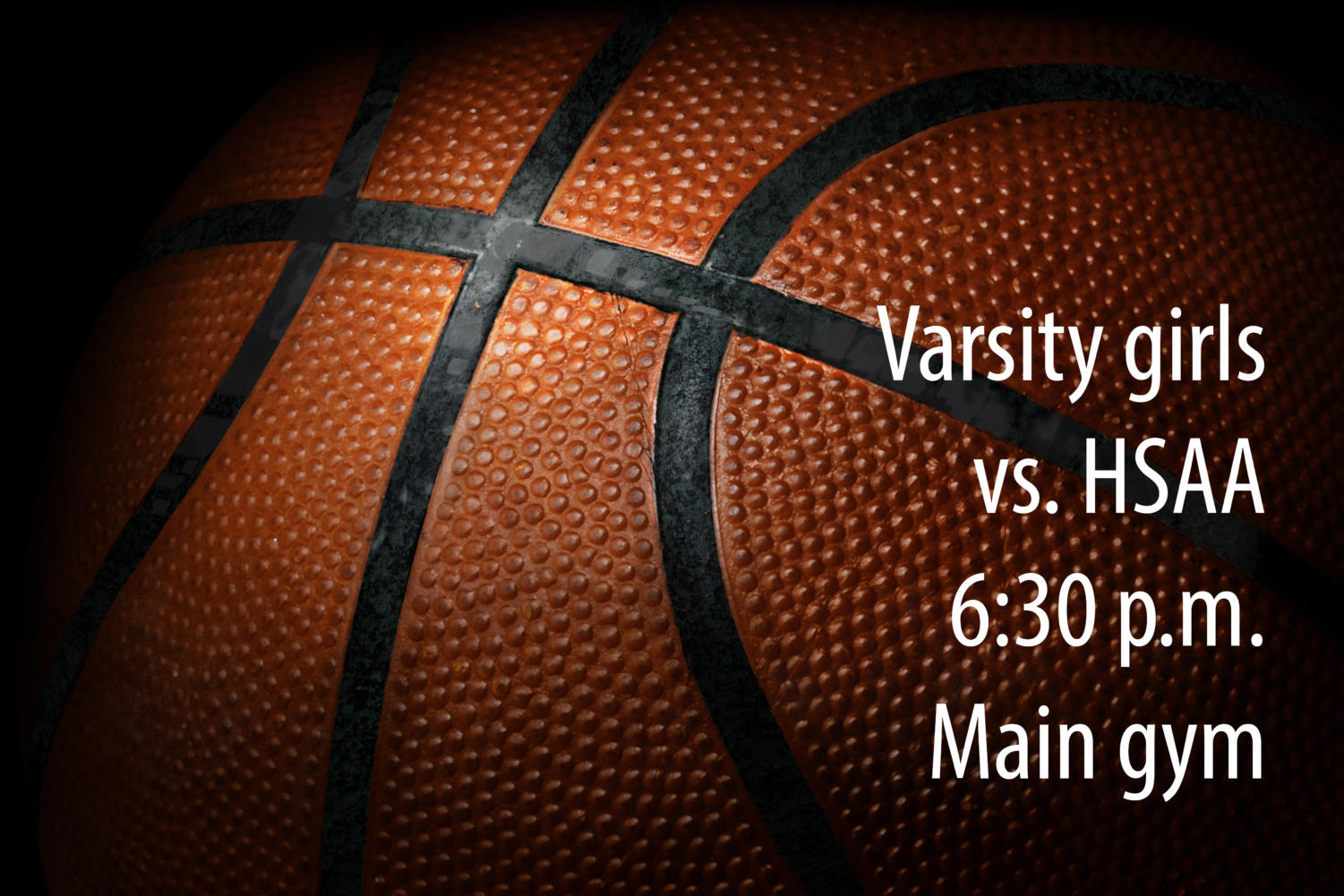 The varsity girls carry a 12-7 record into tonight's non-district matchup.