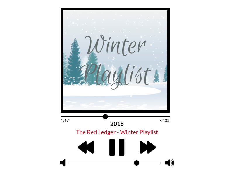 Enjoy this winter mix as the holiday season commences.