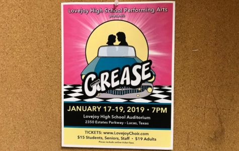 Theater and choir to perform 'Grease' Jan. 17-19