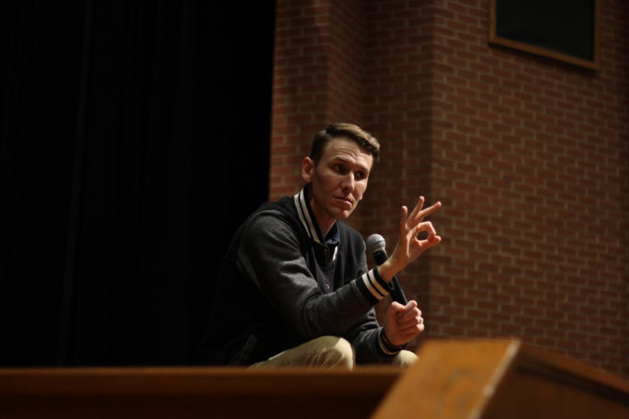 Scott Backovich tells a story about a middle schooler who expressed compassion.
