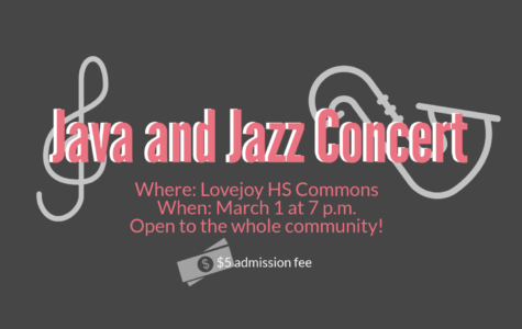 Jazz band and a capella to host third annual Java and Jazz