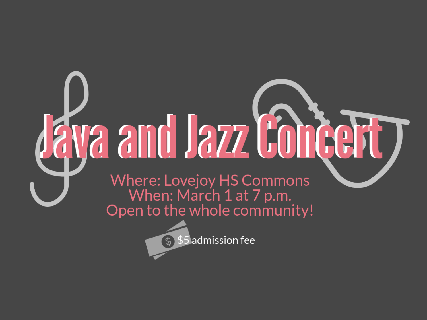 The third Java and Jazz will focus on music from the WWII era.