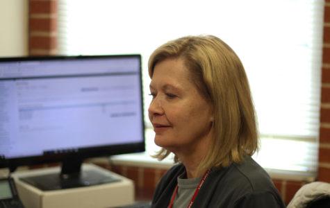 Attendance clerk Debra Hogan