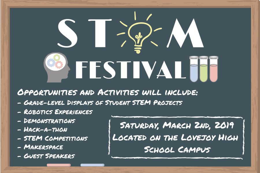 The Stem Festival is scheduled for March 2nd.