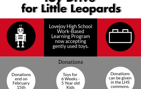 Work Based Learning program holds donations for district daycare