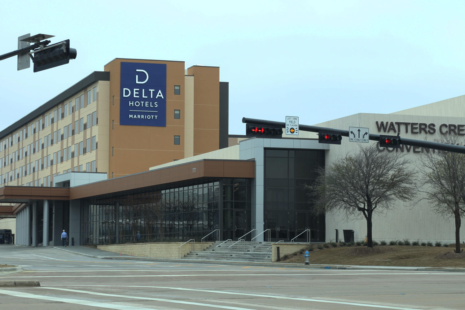 The Watters Creek Convention Center and Delta Marriott Hotel opened Jan 15.