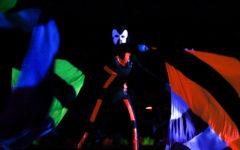 Photo Gallery: Blacklight pep rally