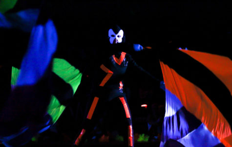 Photo Gallery: Blacklight pep rally