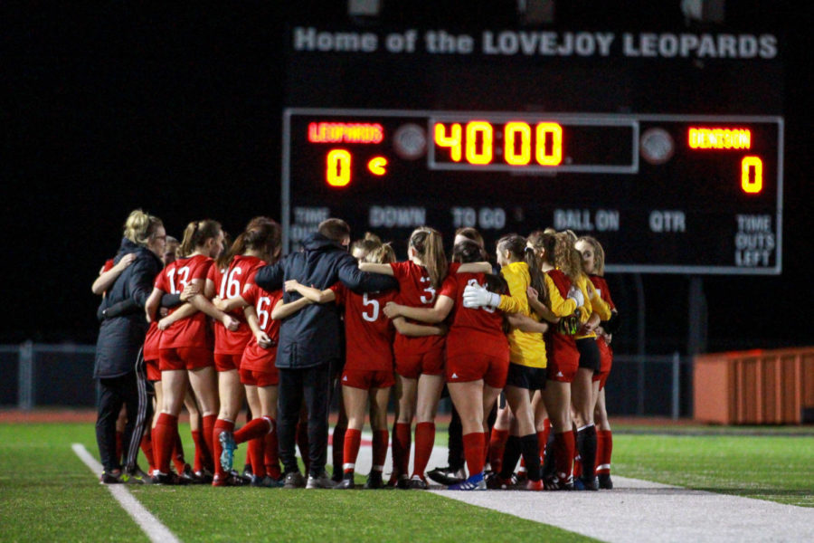 The girls soccer team is back in the playoffs under the leadership of first-year head coach Ian Keeble.