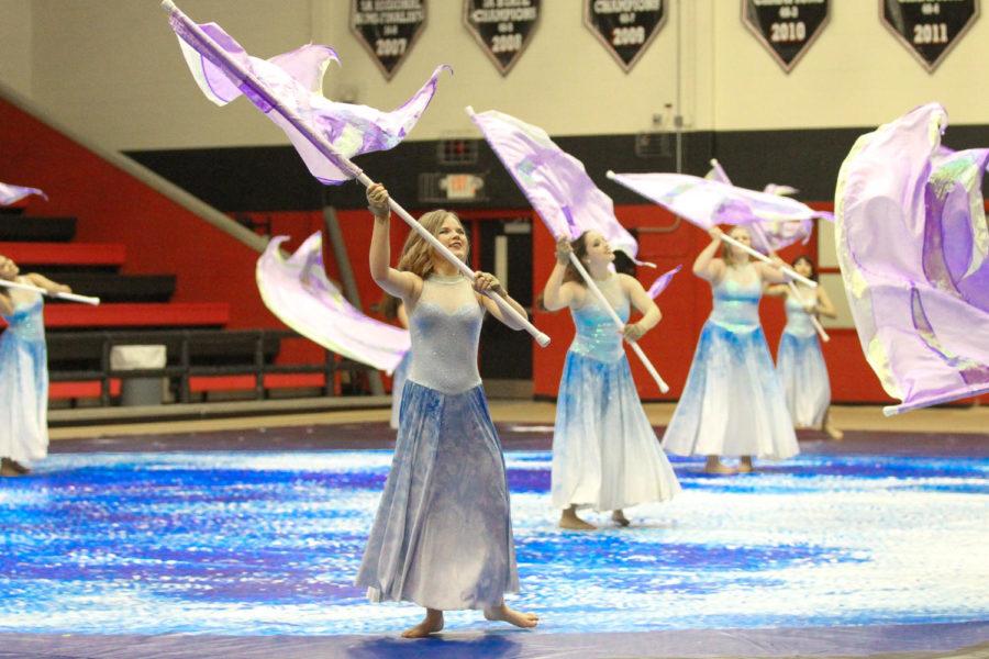 Photo Gallery: Color Guard Showcase