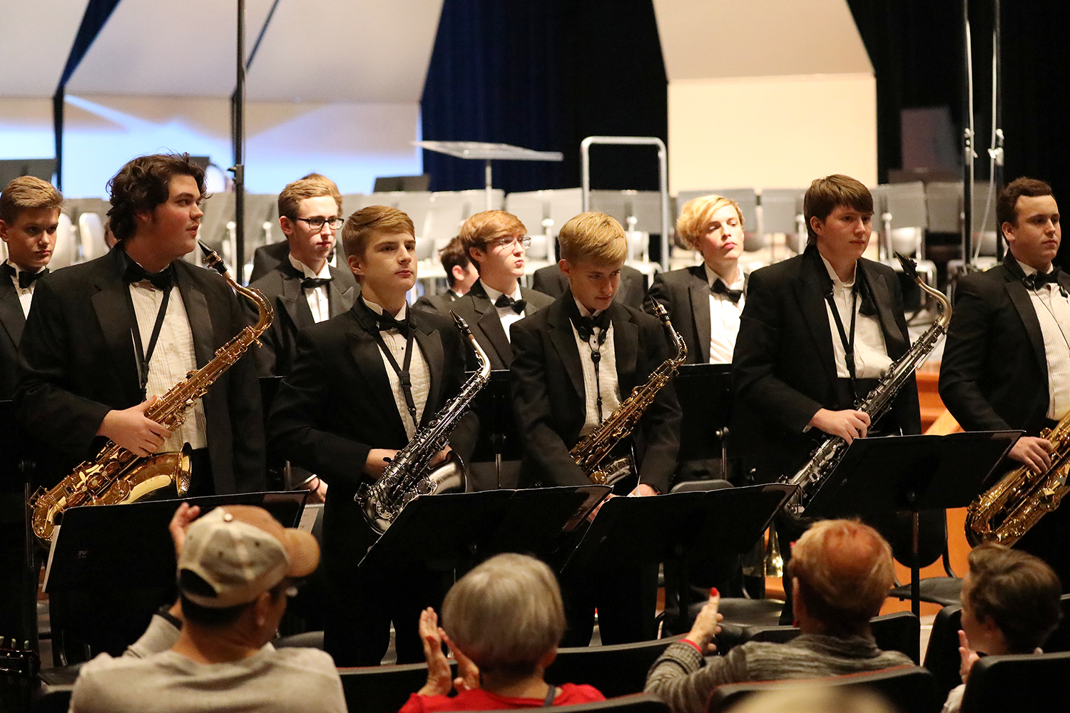 For the May 6 jazz band concert, saxophonist Sal Lozano and the Texas Instruments Jazz band will join students on stage. Last year's concert with the TI Jazz Band featured  Delfeayo Marsalis.