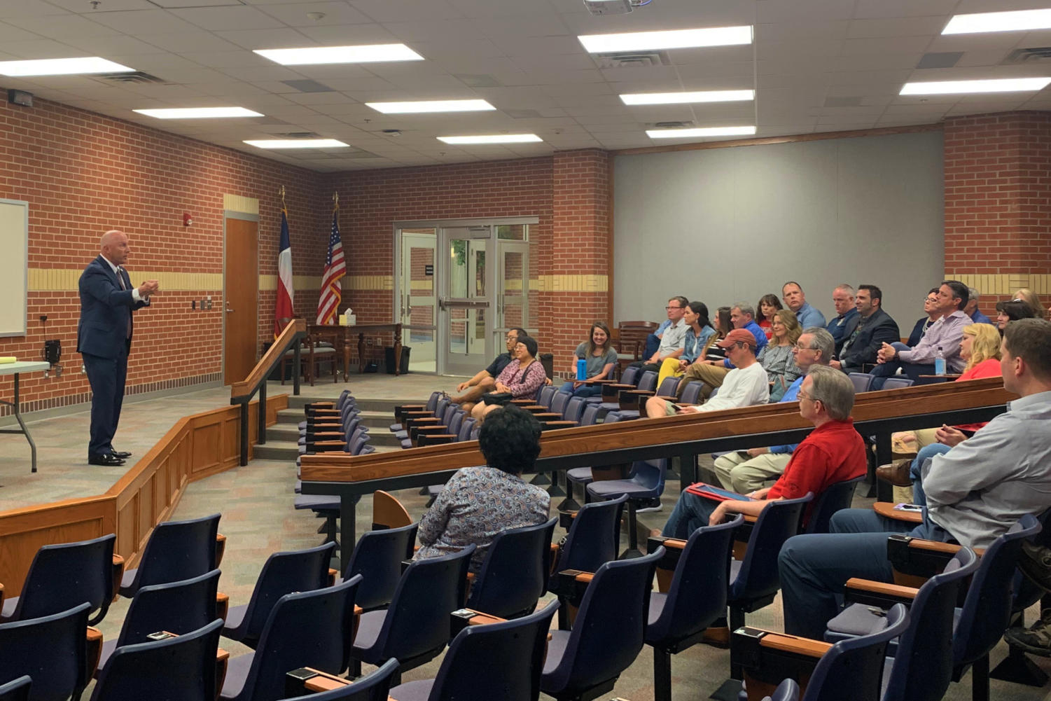 JG Consultants was chosen to conduct the district's superintendent search following Ted Moore's resignation in February.