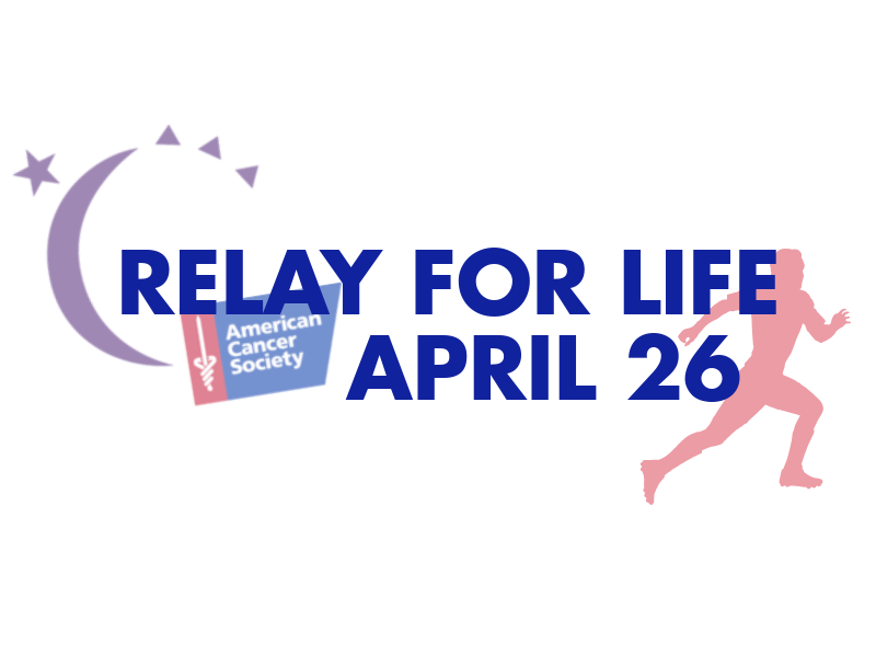Relay for Life to be held April 26