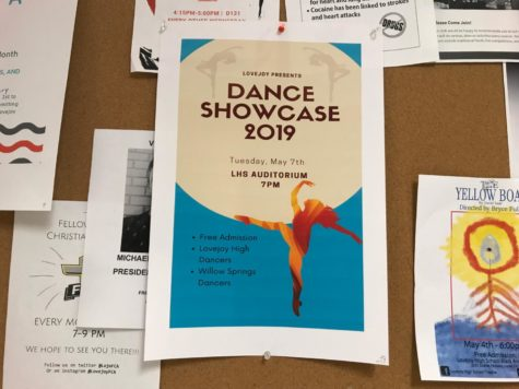 Dance classes to perform in showcase