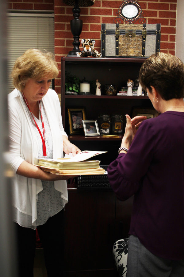 Fleming's years of Lovejoy experience has led to her being a primary source of help and information. Fleming said that while she is there to help people, it can be had to focus sometimes.
