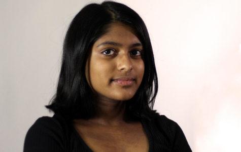Junior Shivani Radhakrishnan, President