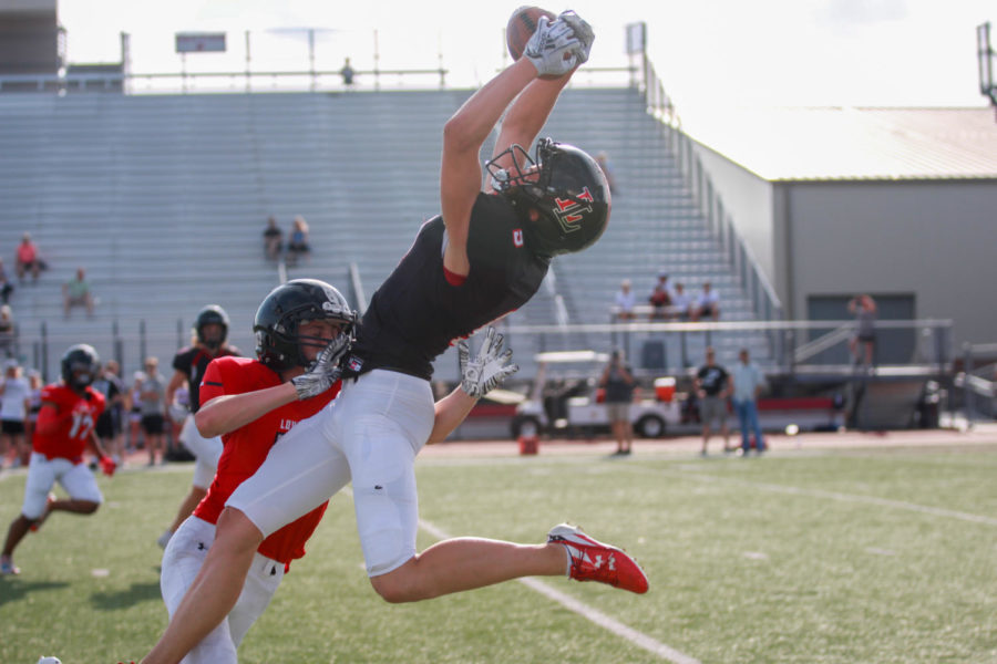 Photo Gallery: Football plays in spring scrimmage