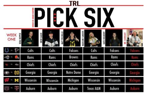 Pick Six: Week One