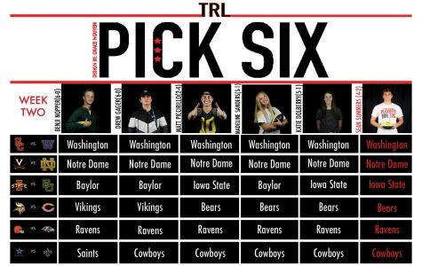 Pick Six: Football experts versus football player