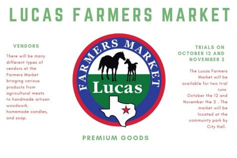 City of Lucas to hold trial farmers market