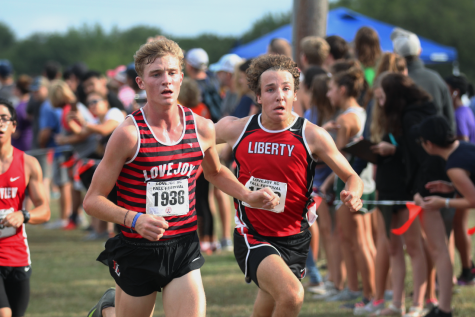 Girls cross country competes at McNeil Invitational