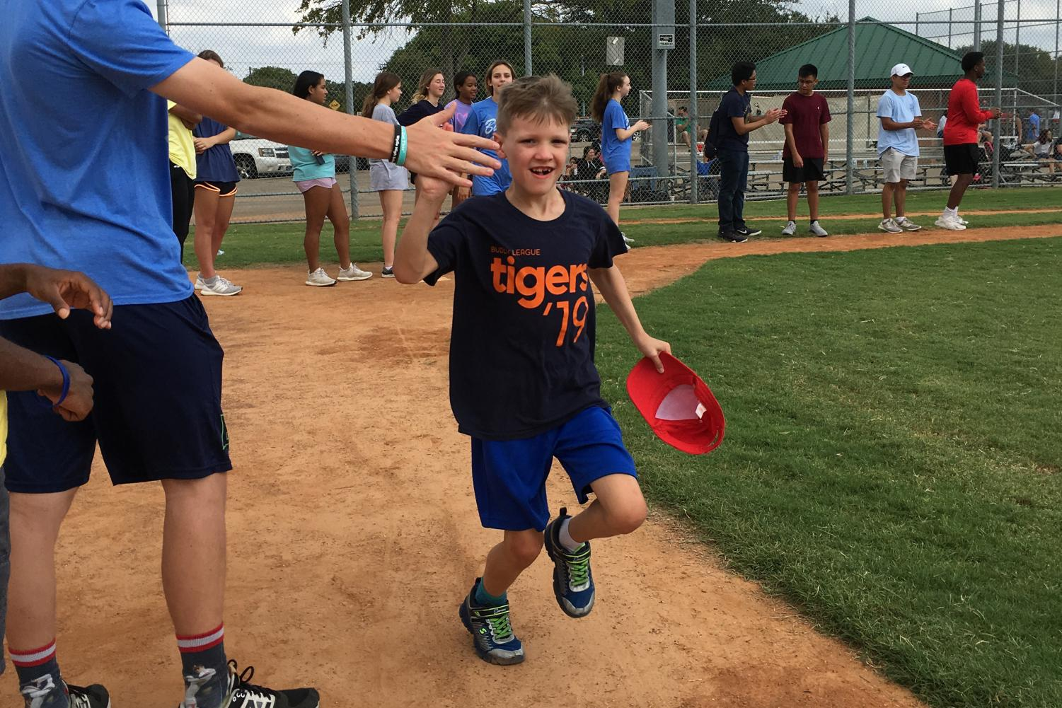 People who may not be able to participate in conventional baseball teams because of disabilities may compete in the Buddy League.