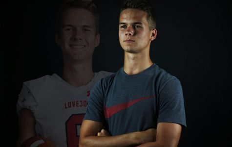 Senior Tyler Loop, the number two kicker in the nation, has officially committed to Arizona University. This is his second year on varsity's special teams.