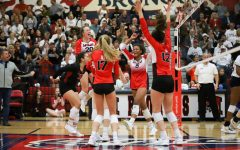 Photo Gallery: Volleyball wins in bi-district match