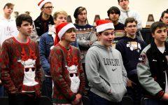 Choir spreads Christmas cheer through singing telegrams