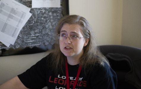 Algebra and precalculus teacher Crystal Gaddie