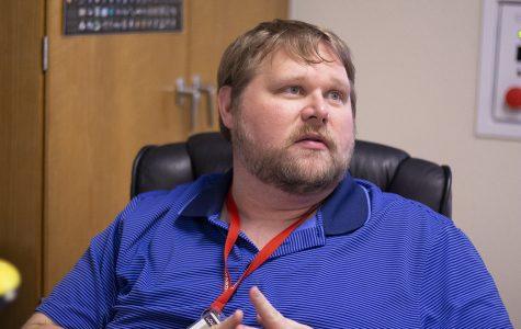 Chemistry teacher Jason Taylor