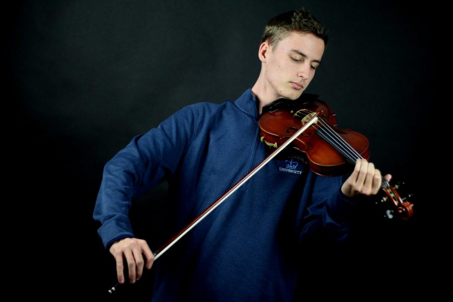 Junior Ryan Schlimme finished composing his third violin concerto this year after working on it for nearly two years.